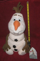 Disney Store Frozen 15 inch Olaf plush. Brand New with tags plus Patch o... - $49.49