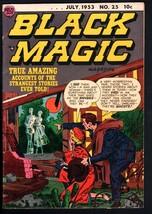 BLACK MAGIC #25-1953-JOE SIMON/JACK KIRBY-PRE-CODE HORROR - $261.90