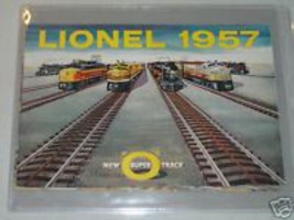 1957 LIONEL CATALOG- NEW - $16.99
