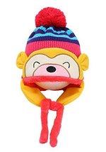 Fashion Baby Hats Winter Baby Earmuffs Cap Hats ROSE, 1-4 Years