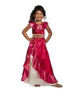 11007 Girls 4-6X Elena Adventurer Dress Classic Disney Princess Costume - $29.88