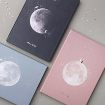 Moon Diary Special Edition Planner Scheduler Study Business Notebook Jou... - $24.99