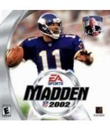 Madden NFL 2002 by EA Sports - $5.00