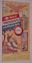 Esso Book of Presidents and Election Facts 1964 Softcover - $18.99