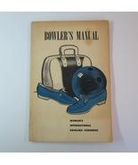 Vintage 1960's WIBC Women's International Bowling Congress Bowler's Manual - $7.99