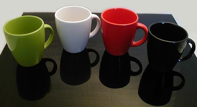4 Colors Contemporary Hot Cold Mugs from The Netherlands Brand New Modern Design