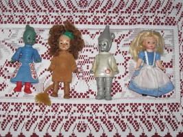 Mc'Donald Alexander Doll Co. Wizard of Oz 4 Dolls  - $14.99