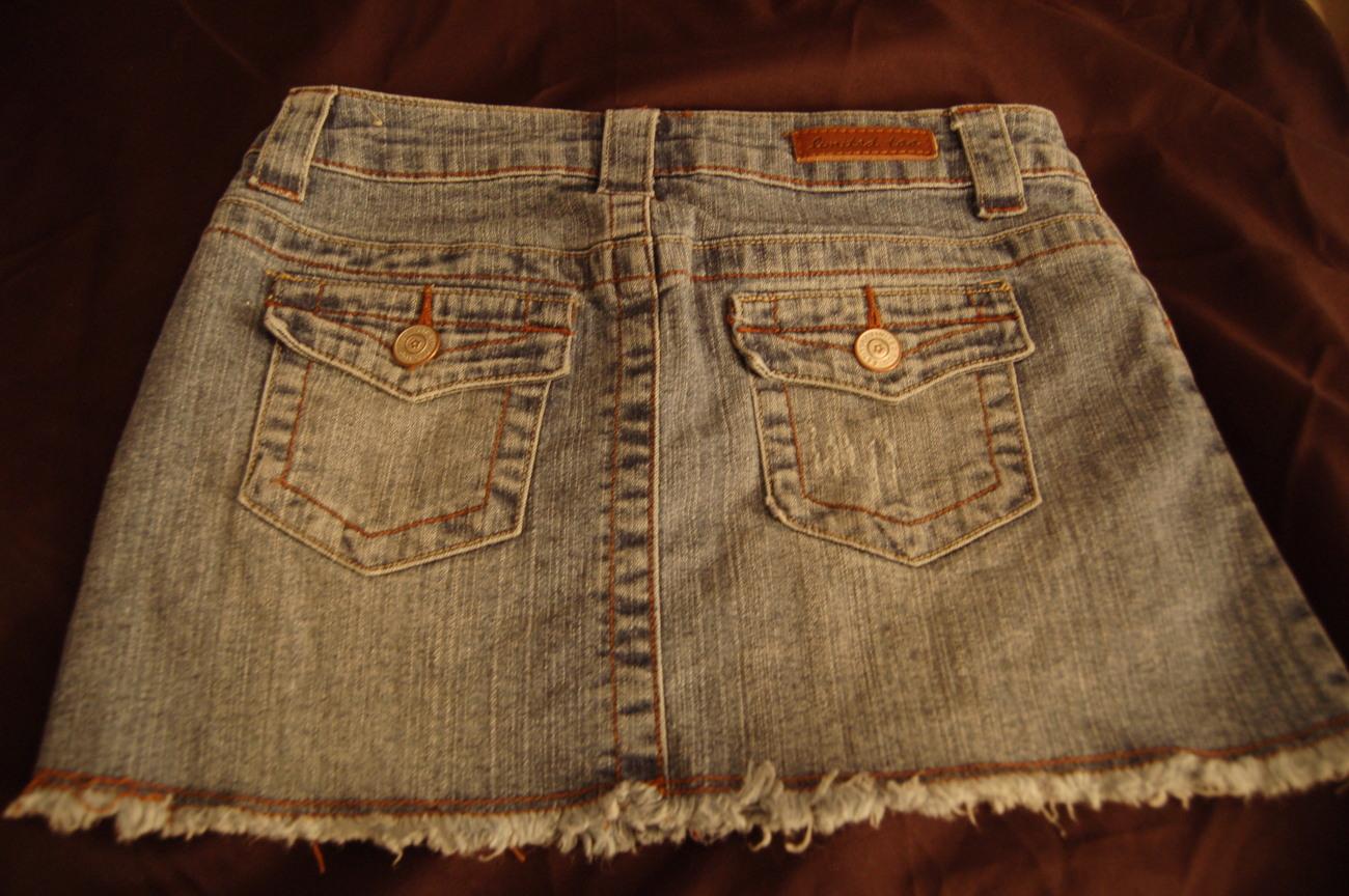 Limited Too Denim Skirt Girls 7