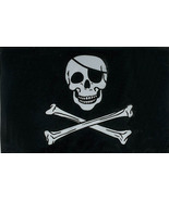 Jolly Rogers FLAG 3' x 5' USA Flags Polyester New - $10.00