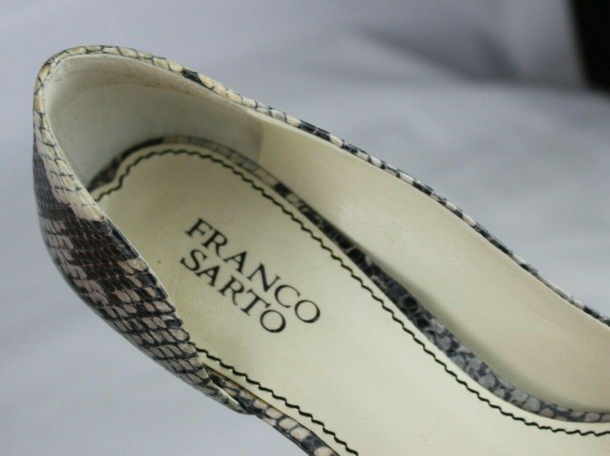 Franco Sarto L Dash Femmes M Talons Ouvert Orteil Animal Imprimé Chaussures 8.5M image 9