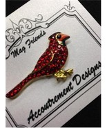 Glamorous Cardinal Magnet Mag Friends Needle Mi... - $12.60