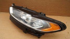 13-16 Ford Fusion Halogen Headlight Head Light Lamp Driver Left Side LH image 3