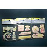 Baby Girl Pink Scrapbook Embellishments - $5.50