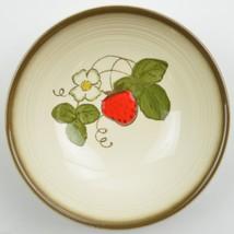Poppytrail by Metlox California Strawberry Dessert Fruit Bowl USA Dinnerware - $7.49