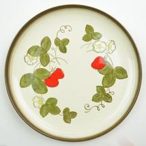 Poppytrail by Metlox California Strawberry Pattern Dinner Plate Dinnerware USA - $14.99