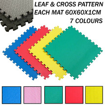 Interlocking Eva Foam Floor Mats Soft Gym Exercise Garage House Office M... - $3.24+