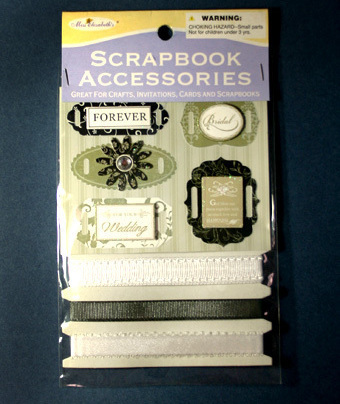 Wedding Scrapbook Embellishments