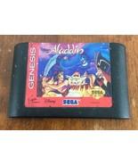 Sega Genesis Aladdin Game Cartridge Retro Vintage - $14.84
