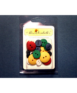 Colored Buttons Scrapbook Embellishments - $3.89