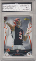 AJ McCarron ~ 2014 #147 Rookie ~ FGS GRADED Mint 10 - $16.04