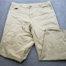 Men's Smith's Workwear Tan Work Pants Size 42x32 - $18.48