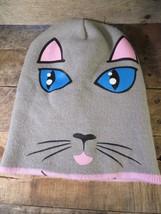 Reversible CAT Awake Sleeping Target Stocking Adult Hat Cap Beanie - $7.42