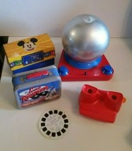 Vintage Toy LOT 3D View Master Lone Ranger Lunchbox Disney Trivia Doodle... - $30.00