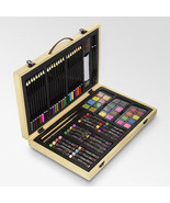 Color Creativity Art Set 82 Pieces in Wood Box  by Art Alternatives New - $24.70