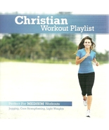 Christian Workout Playlist CD Medium Paced - $14.98