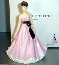 Royal Doulton Prom Night Pretty Ladies Petite Figurine Occasions HN5682 New - $49.90