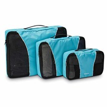 Samsonite 3 Piece Packing Cube Set Travel Tote Blue One Size - $40.57