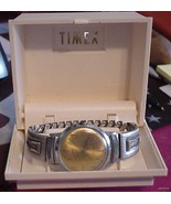 Vintage TIMEX Mens Mechanical Watch Original Box UFIX - $41.95