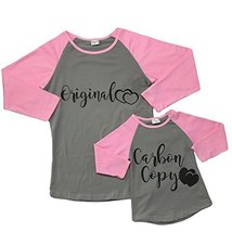 Cute Kids Clothing Girl's Women's Mommy and MeOriginal and/OrCarbon copy... - $14.99