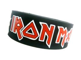 IRON MAIDEN Bracelet Wristband - $9.99