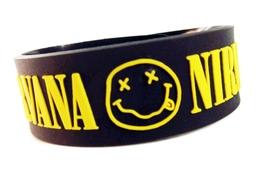 Nirvana Bracelet Wristband (#1)  - $9.99