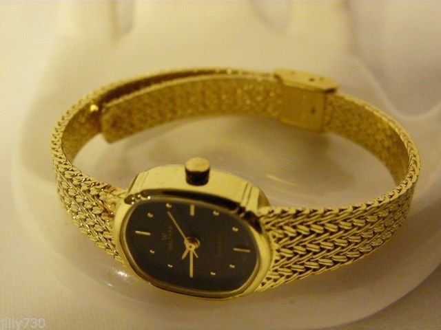 Waltham Quartz Ladies Gold Tone Watch Recently Serviced Wristwatches
