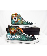 Converse Aquaman Chuck Taylor All Star Shoes AQUA MAN DC Comics - $79.99