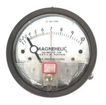 DWYER 12-167009-00 MAGNEHELIC PRESSURE GAUGE 15 PSIG MAX, 0-10, 1216700900 image 2