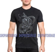 Affliction Serpentine Haze A19326 New Short Sleeve Graphic Fashion Tee F... - $49.95