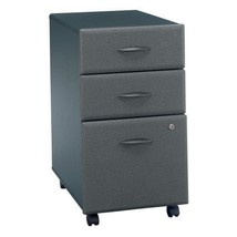 Bush Office Furniture Mobile Vertical File, Sla... - $230.99