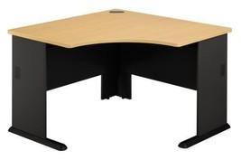 """Bush Series A: 48""""""""W Corner Office Desk (Beech)... - $258.10"""