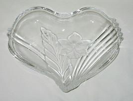 Mikasa Satin Orchid Pattern 8 1/2-inch Heart-Shaped Dish - $12.82