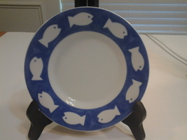 """The Pencil Factory Gallery by Inhesion, Snack or Saucer Plate 6.25"""" Widt... - $5.20"""