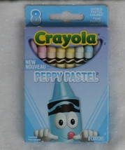 2013 Crayola Peppy Pastel Crayon Box, Cool Color ...