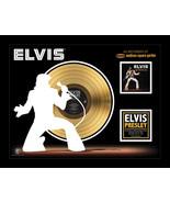 "Elvis Presley As Recorded at Madison Square Garden-Framed 20"" x 26"" 24Kt... - $189.99"
