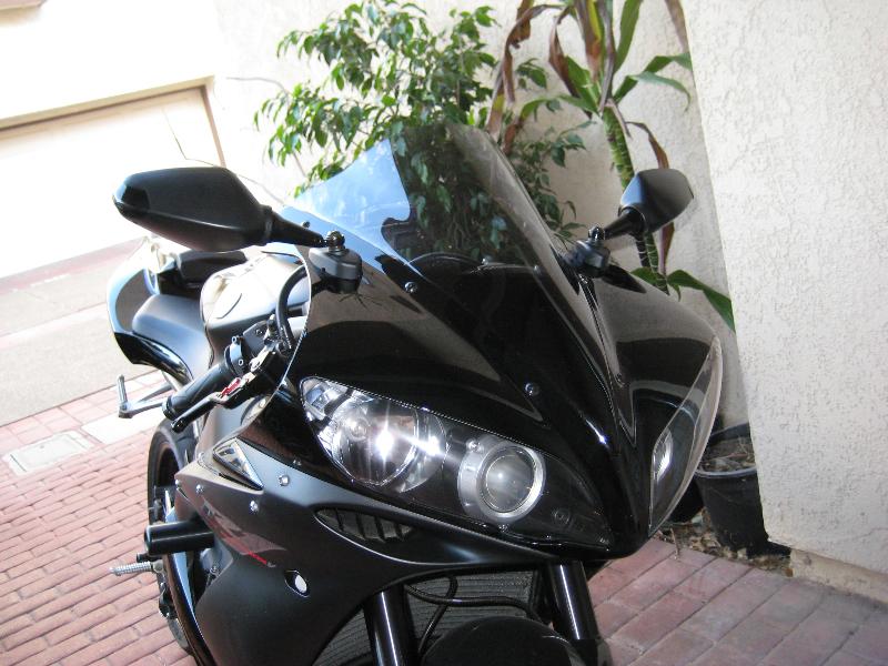 Yamaha 03 07 r6 r1 led tuning mirrors 7086 87 motorcycle for Yamaha r6 aftermarket mirrors