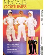 McCall's 7856 Kids' Space Age Star Trek & Astronaut Costume Pattern 7-8 - $12.99