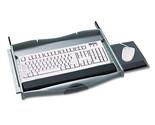 Safeco Premium Keyboard Drawer, 21-3/4 x 13-1/4, Charcoal, EA - SAF2213