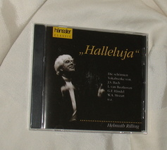 hanssler Classic Halleluja CD NIP Helmuth Rilling Germany - $8.50