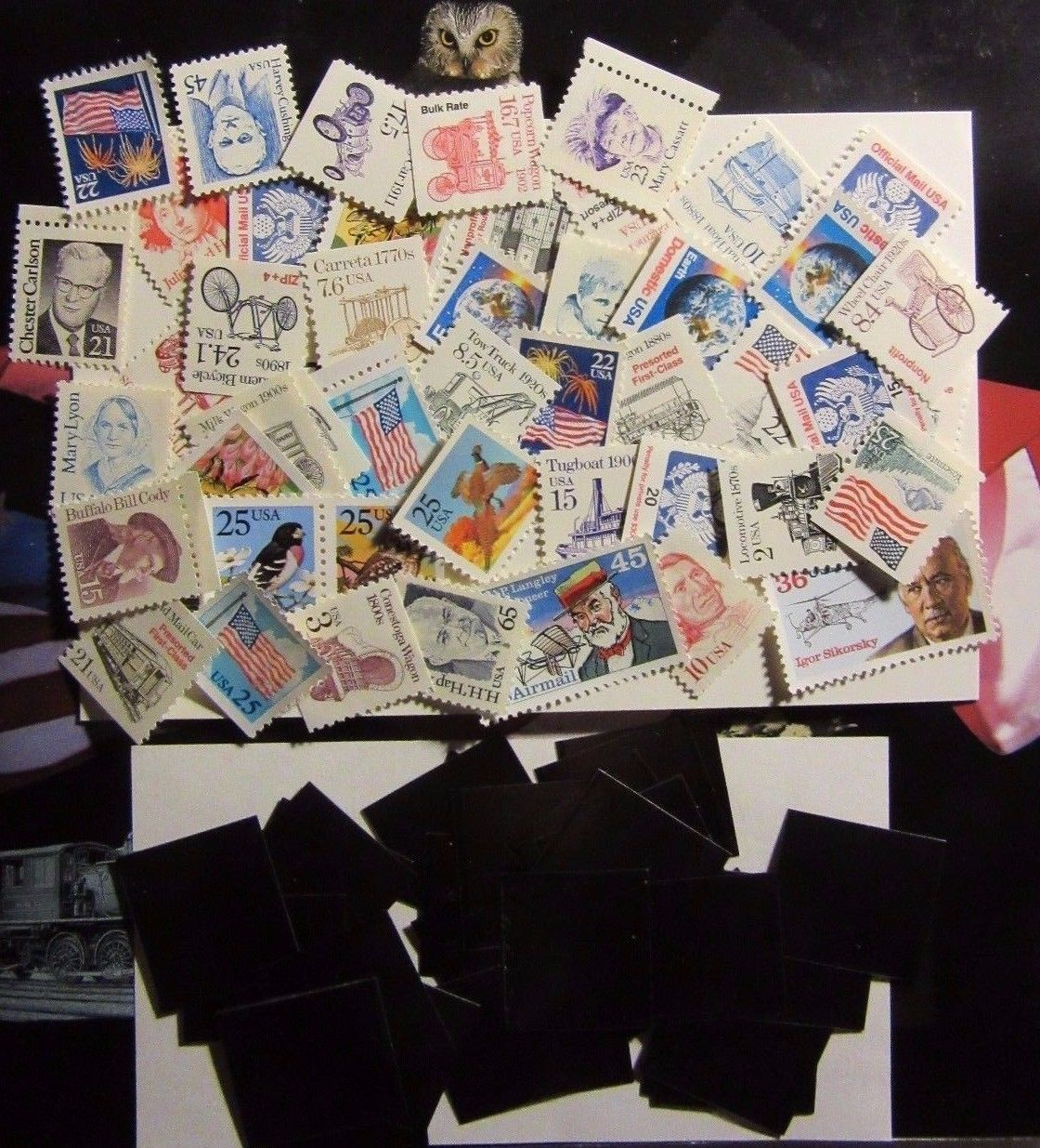 US STAMP LOT 1987-1988 DEFINITIVE MINT SET COLLECTION AS ISSUED BY USPS